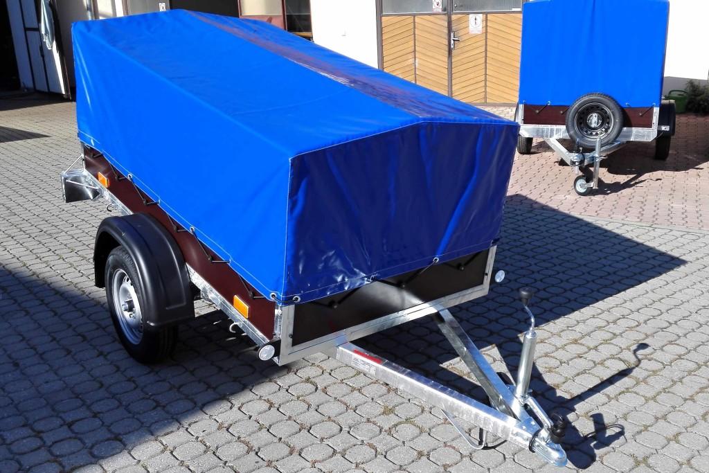 2100×1150, 750 kg – s plachtou 750 mm modrá 1+
