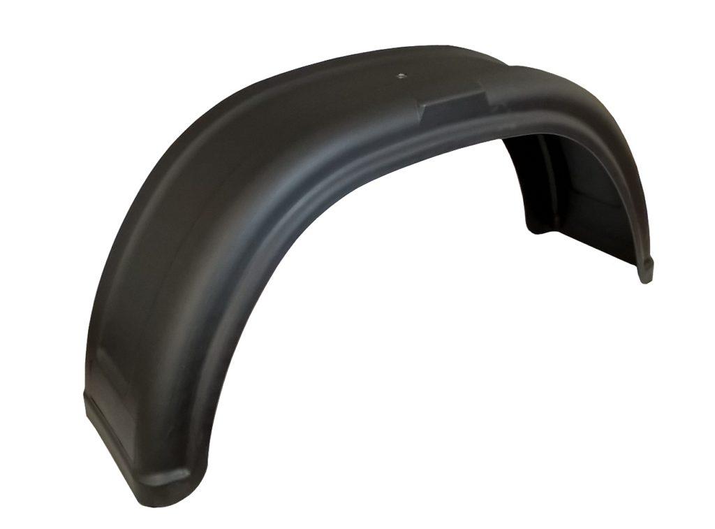 Blatník plastový AL-KO, š. 200 mm, černý