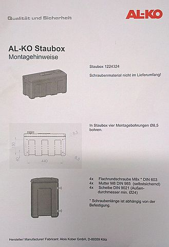 Box na nářadí Box na nářadí Al-ko, plastový-2