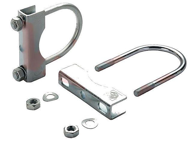 Držák KBF-70 klemy opěrného kolečka na oj pr. 70 mm