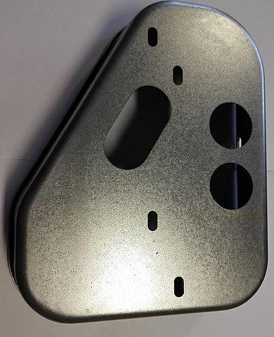 Kryt plechový světla Jokon 10.2080 (boční) a Fristom FT-77-2