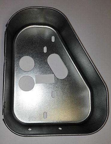 Kryt plechový světla Jokon 10.2080 (boční) a Fristom FT-77