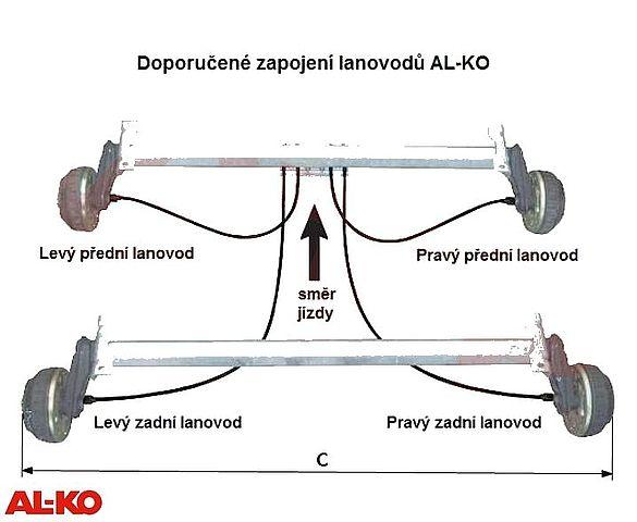 Lanovod Al-ko H-1430-2