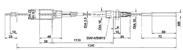 Lanovod Knott H-1130-1