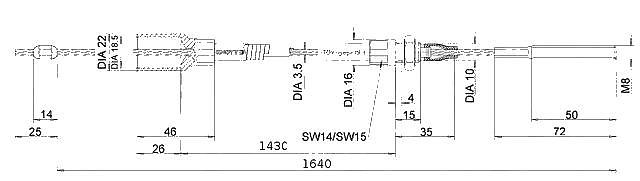 Lanovod Knott H-1430-1