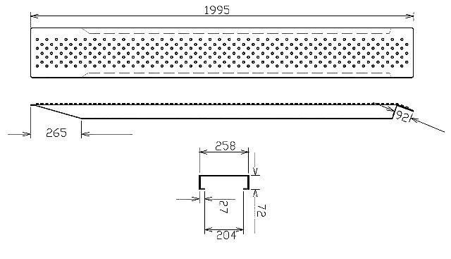 Nájezdy hliníkové, 1000 kg, 2 m-1