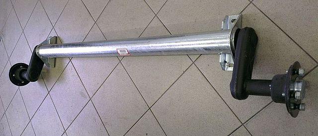 Náprava KNOTT G13 1300kg, šířka 1400