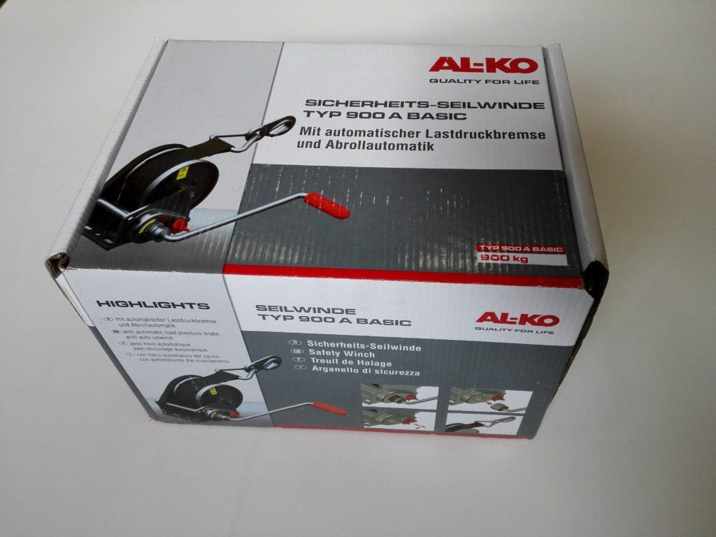 Naviják AL-KO Basic 900, odnímatelná klika, obr.1