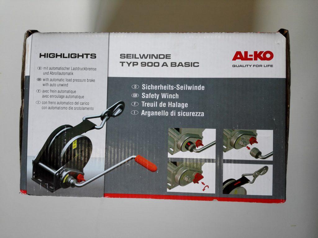 Naviják AL-KO Basic 900, odnímatelná klika, obr.2