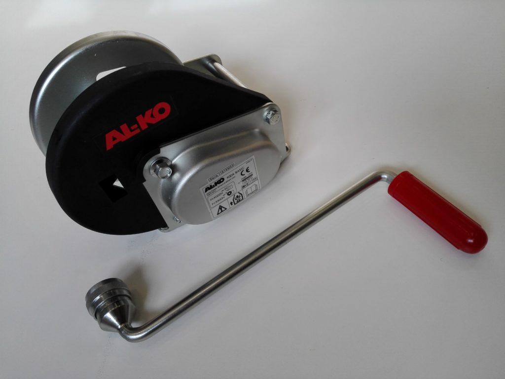 Naviják AL-KO Basic 900, odnímatelná klika, obr.5