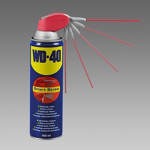 Olej mazací ve spreji WD-40, 450ml