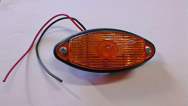 Svítilna boční oranžová obrysová GMAK G02