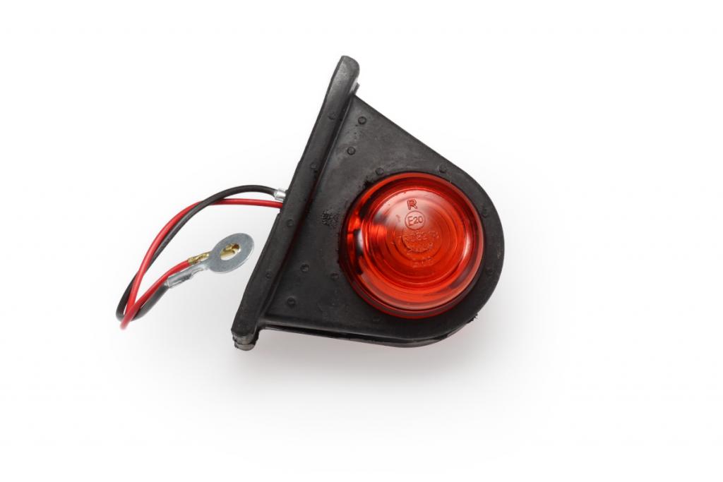 Světlo boční červeno-bílé, malé tykadlo GMAK G06-2