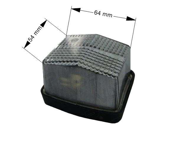 Světlo poziční Promot LO 110, rozměry