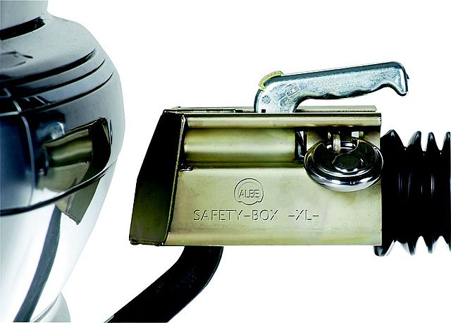 Zámek ALBE safety box XL-K rozvírací-2
