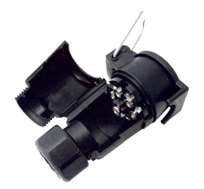 Zásuvka kabelová 12V, 7pin, obr. 2