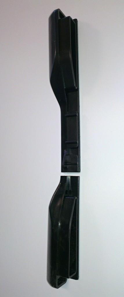 Krytka bočnice TITBIT, plastová, levá