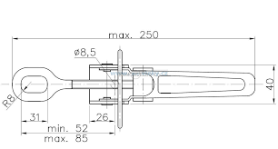 Uzávěr bočnice ZB-03 – nákres