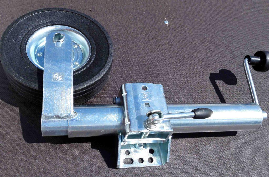Podpěrné kolo silné, pr. 60 mm, s držákem, 225×70, obr.2