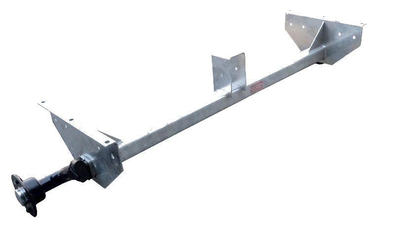 Náprava KNOTT VG 7-L (750 kg) b=1237 mm, 100×4, vysoké patky (Vario A)