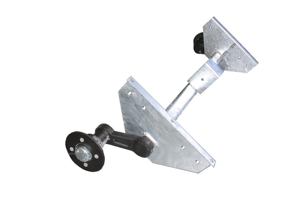Náprava KNOTT VG 7-L (750 kg) b=1092 mm, 100×4, vysoké patky (NP-DV), obr. 2