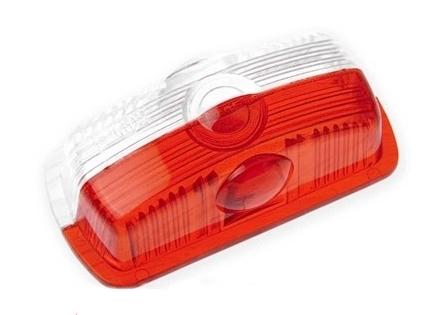 Kryt doplňkového světla PO3 červeno-bílá
