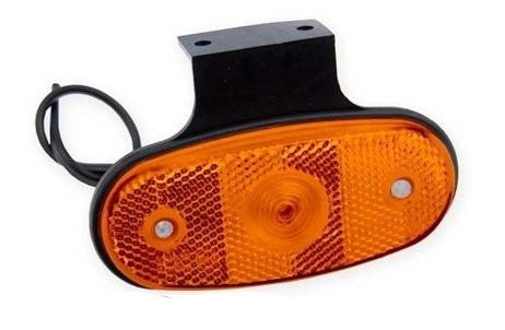 Světlo poziční boční DOB-46DZ-K LED oranžové s držákem, obr.2