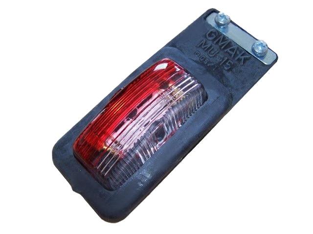 Světlo závěsné boční, červeno-bílé, Gmak G05 -1 (MU-15, závěsná)