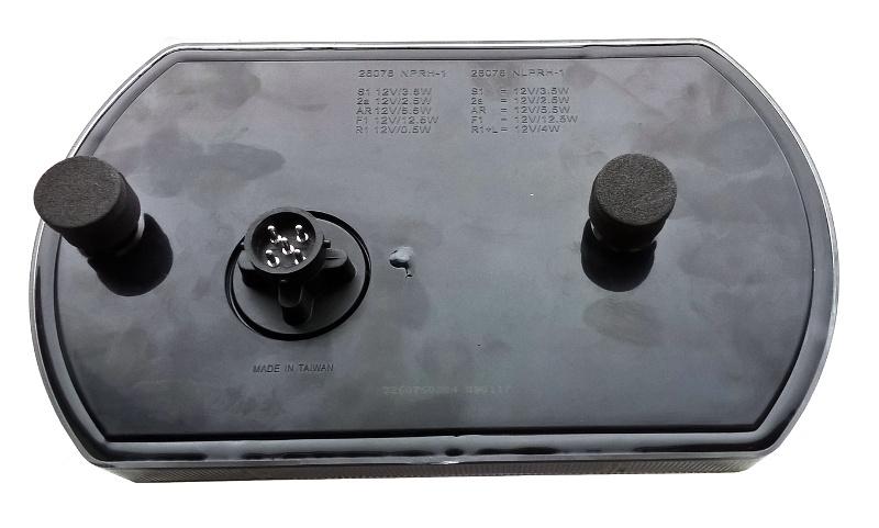 Svítilna Lucidity 26076 sdružená LED 12V, P-BL-BR-KO-CO-baj5, obr. 2