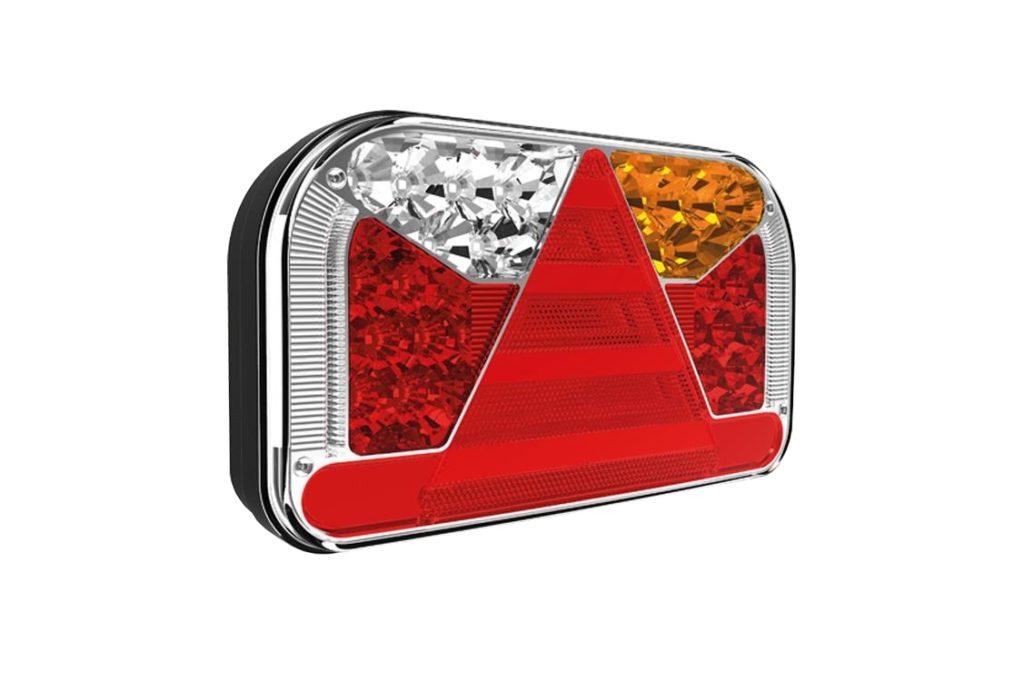 Světlo koncové Fristom FT-170 sdružená LED 12-24V, PRAVÉ, baj6, obr.2