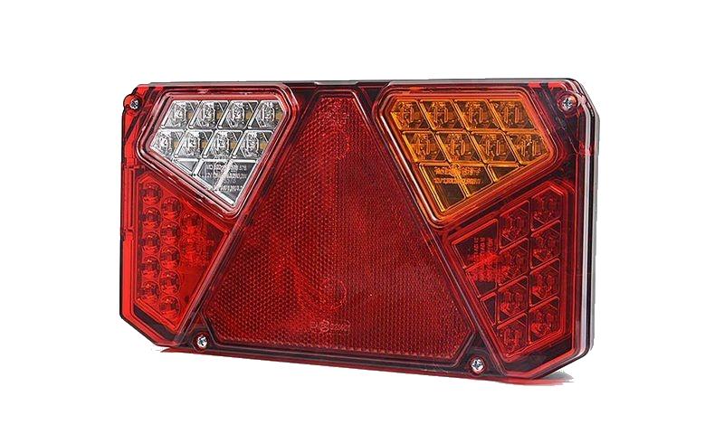 Světlo koncové WAS W125DP-916 sdružená LED 12-24V Pravé, kabel 2m , obr.2