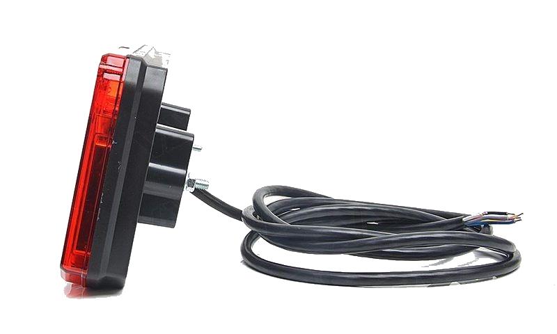 Světlo koncové WAS W125DP-916 sdružená LED 12-24V Pravé, kabel 2m , obr.4