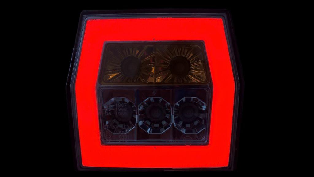 Svítilna Fristom FT-121 sdružená LED 12-24V, L-P-BL-BR-KO, obr.3