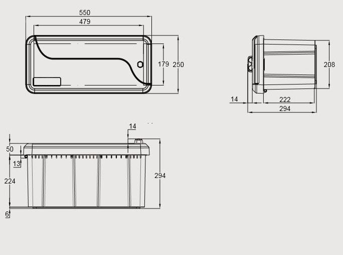 Box na nářadí – 1 zámek, obr.3