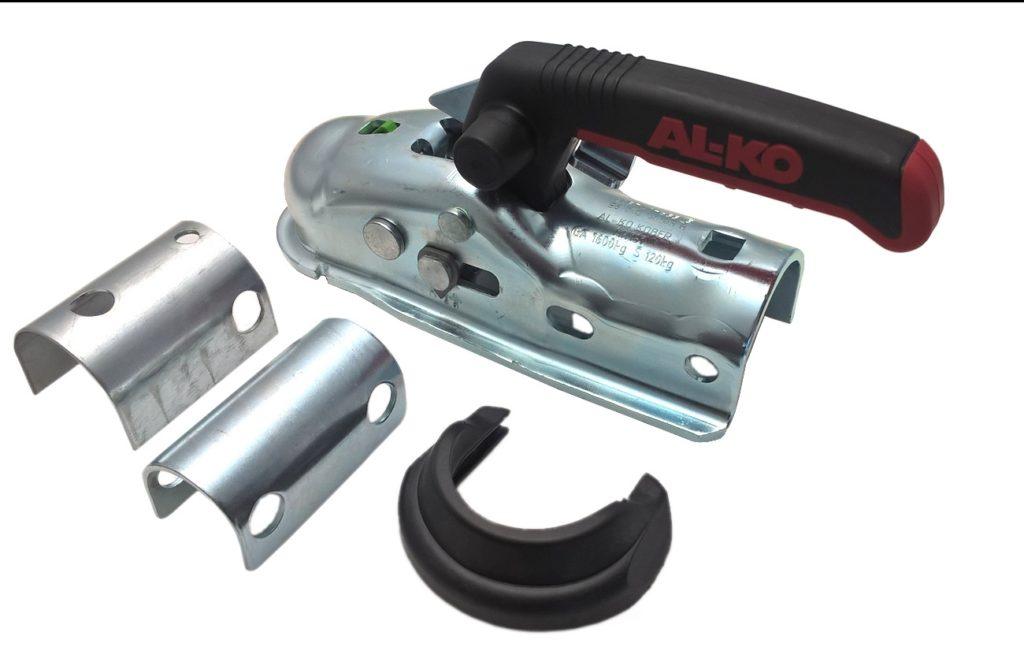 Tažná spojka AL-KO AK 161+dist. vložky 35-45 mm+Soft Dock