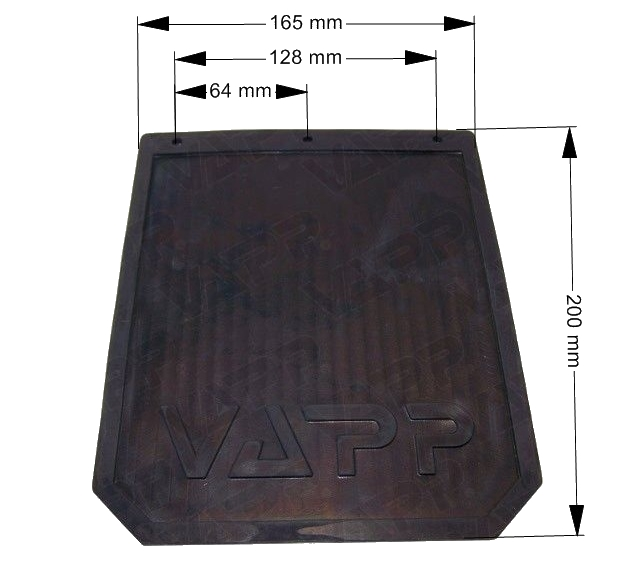Zástěrka gumová Vapp