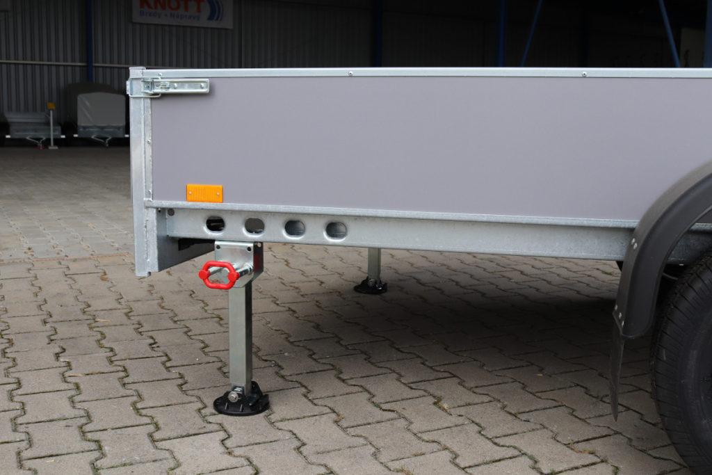 Opěrná noha stavitelná a sklopná 45×45 – 340 AL-KO 500kg -č.3