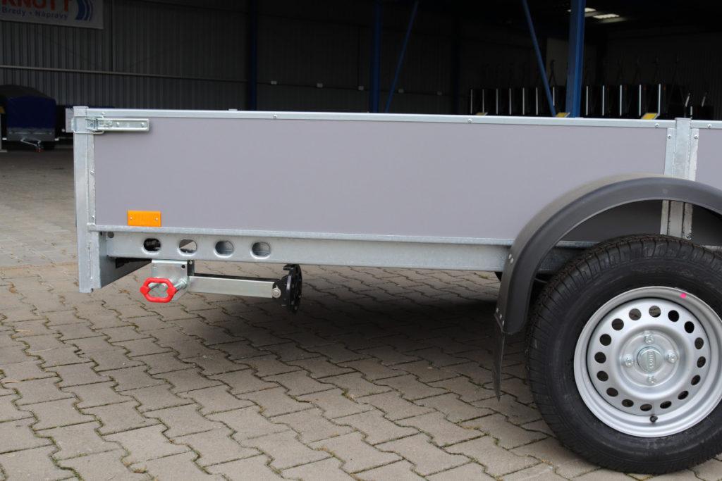 Opěrná noha stavitelná a sklopná 45×45 – 340 AL-KO 500kg -č.4