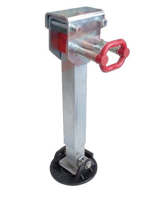 Opěrná noha stavitelná a sklopná 45×45 – 340 AL-KO 500kg
