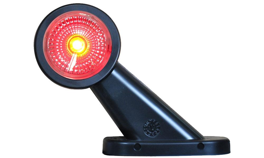 Svítilna doplňková obrysová LED WAS W21.7RF 299BC, 12-24V, levá 108 mm, obr.1