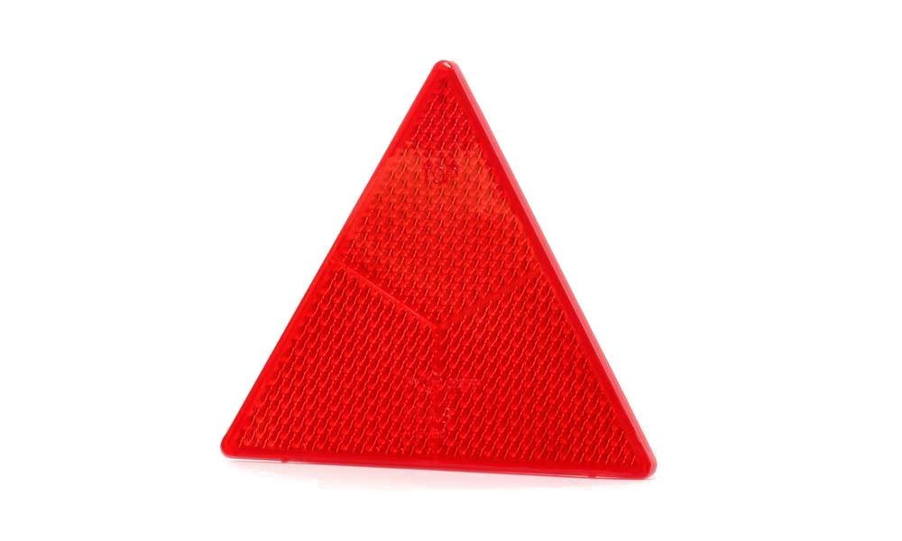 Odrazový trojúhelník 161×138 mm se zalis. šrouby