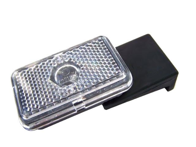 Svítilna Jokon PLR 130-WP přední obrysová s odrazkou, držák, pravá