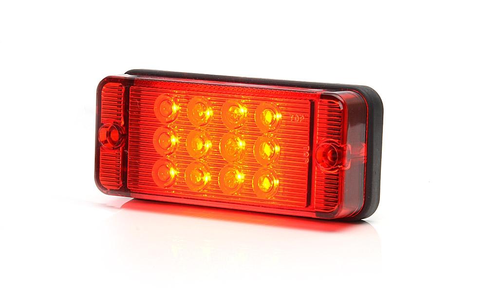 Mlhovka LED WAS W 83D, 12-36 v, IP68