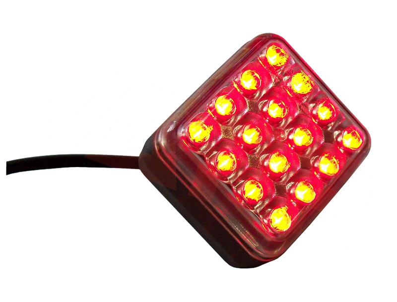 Svítilna mlhová zadní LED Fristom FT-040, 12-36V, kabel 2×0,75 mm