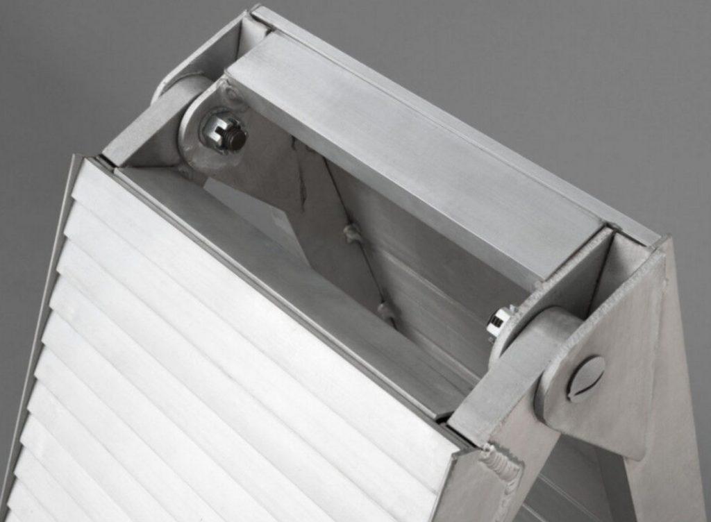 Hliníkové skládací lamelové nájezdy s nosností 680 kg – LR001D, obr. 2
