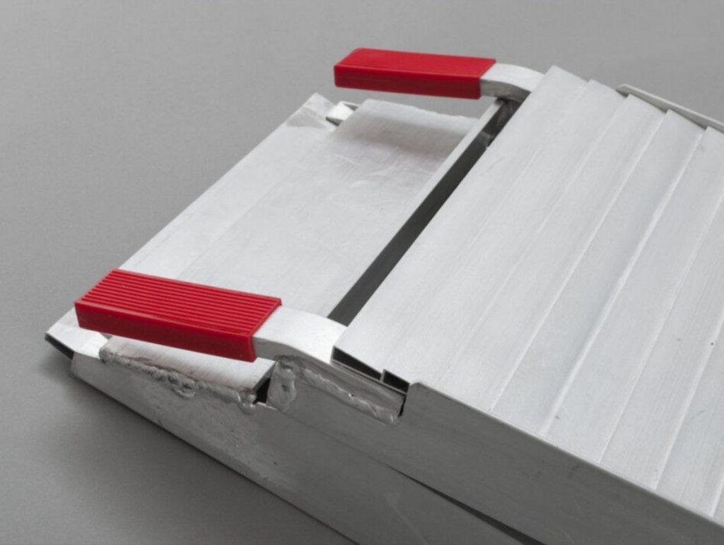 Hliníkové skládací lamelové nájezdy s nosností 680 kg – LR001D, obr. 3