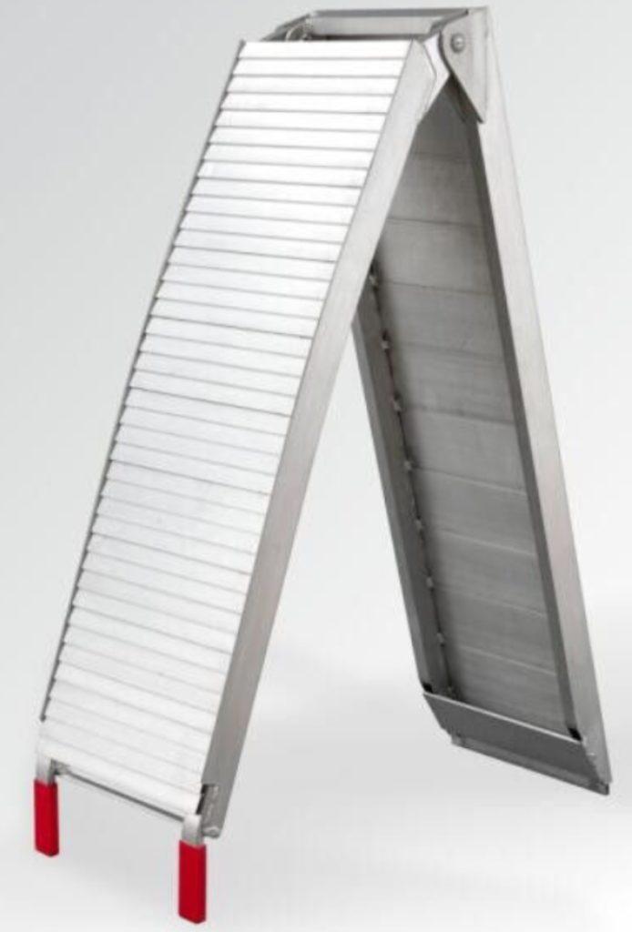Hliníkové skládací lamelové nájezdy s nosností 680 kg – LR001D, obr. 4