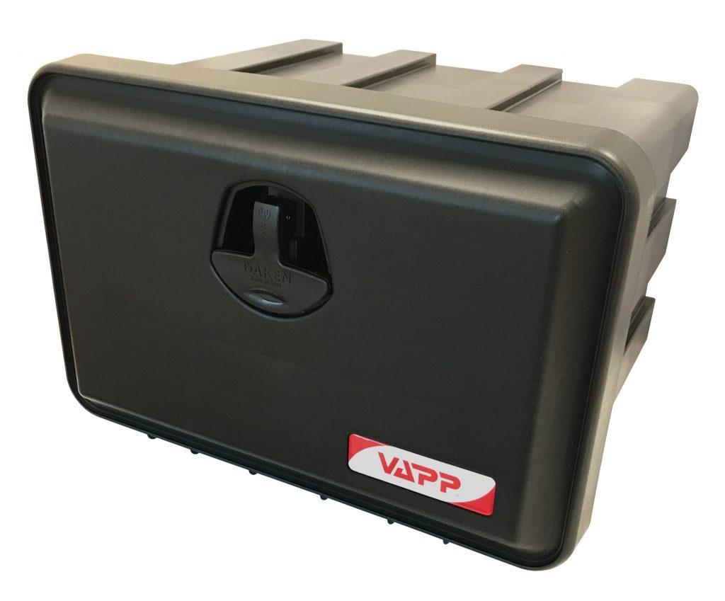 Box na nářadí JUST 500 500x350x400 mm, dva zámky (horní otvírání)