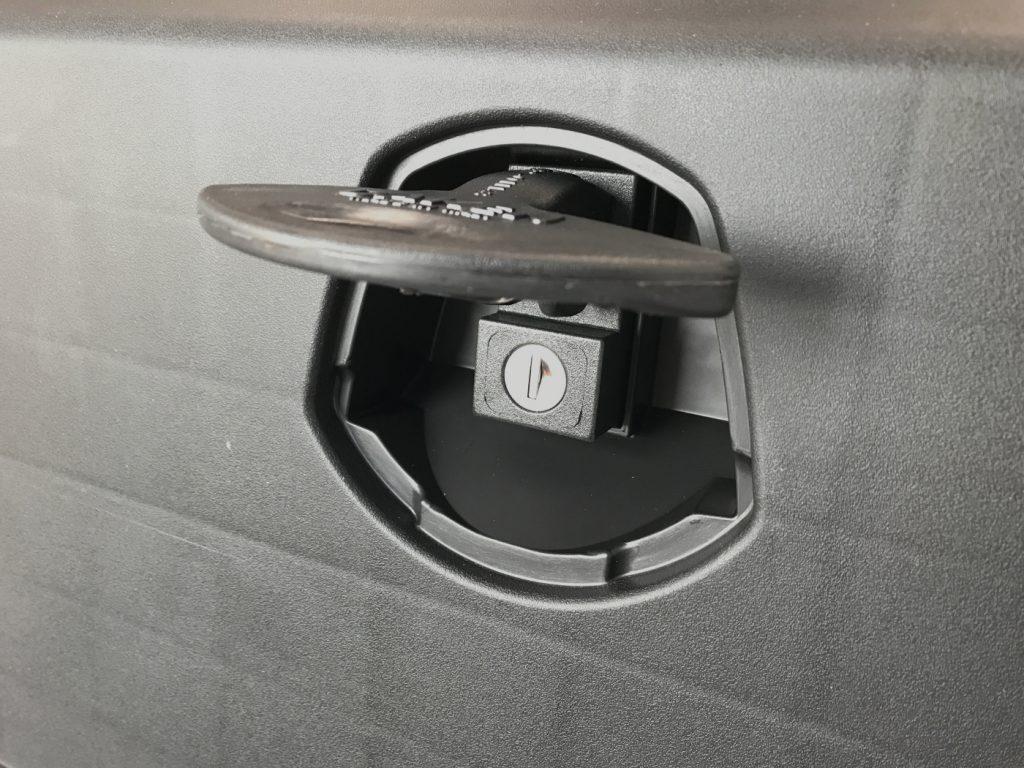 Box na nářadí JUST 500 500x350x400 mm, dva zámky (horní otvírání), obr. 4