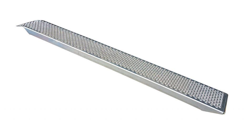Nájezd hliníkový 2500-260 mm rovný (1000 kg na pár)